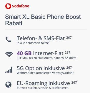 Napoleon Rogue 525 Gasgrill für 99€ + Vodafone Allnet Flat mit 40GB LTE/5G für 44,99€ mtl.