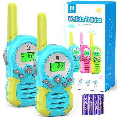 2x MTM Walkie Talkie Funkgerät mit 8 Kanälen und 10 Klingeltönen für 11,99€ (statt 24€)