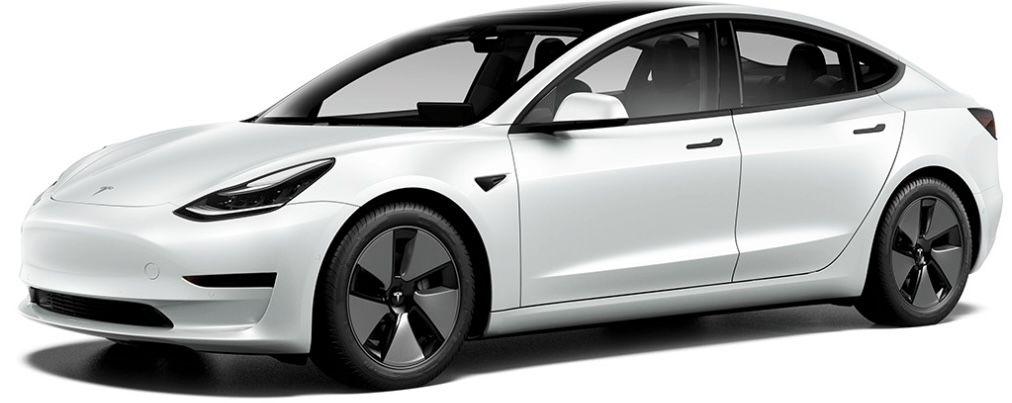 Gewerbe: Tesla Model 3 mit 283 PS in Weiß für 289€ mtl. netto