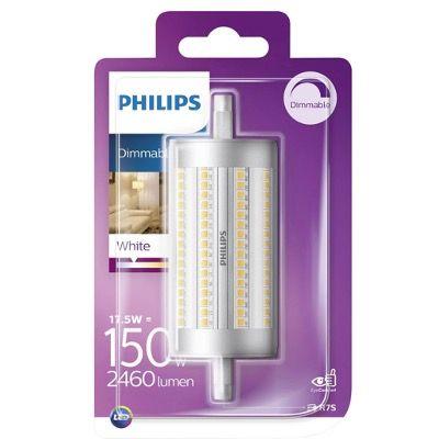 Philips LED R7S 17,5W (= 150W) 118mm dimmbar Stab 2460 Lumen Leuchtmittel für 9,99€ (statt 20€)