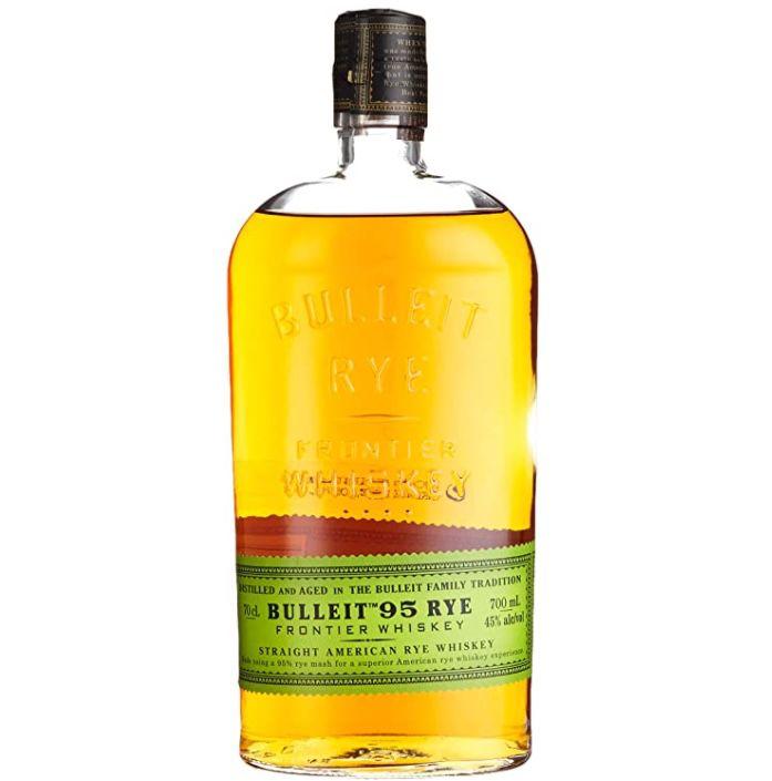 Bulleit 95 Rye Frontier Whiskey (0,7 Liter) für 21,52€ (statt 27€)