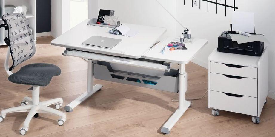 Paidi Kinder Schreibtisch GT in Kreideweiß für 234€ (statt 299€)