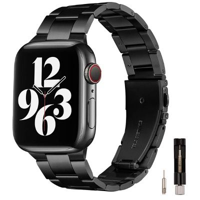 60% Rabatt auf Metall-Armbänder aus Edelstahl für Apple Watch für 7,70€ (statt 22€) – Prime