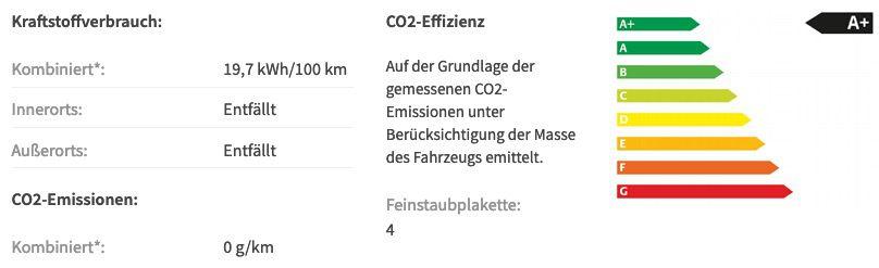 Gewerbe: Mercedes Benz EQC 400 4Matic mit Multibeam LED und 408PS für 474,81€ mtl.   LF 0,72