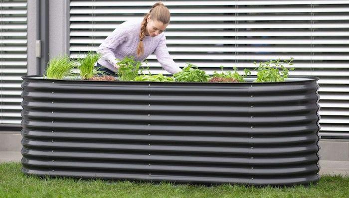 Westmann Metall Hochbeet Gartenbeet Grow Faster 240x80x82cm in Anthrazit für 194,99€ (statt 249€)
