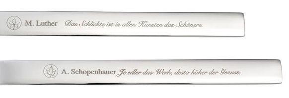 GRÄWE Besteckset Poesie (30 teilig aus Chromnickelstahl) für 33,98€ (statt 54€)