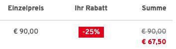 Reusch Herren Steppjacke mit Kapuze in drei verschiedenen Farben für 67,50€ (statt 93€)