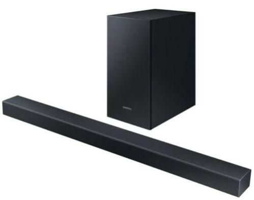 Samsung HW T450   2.1 Soundbar mit Bluetooth für 99€(statt 111€)
