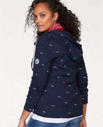 KangaROOS Damen Sweatjacke aus reiner Baumwolle ab 26,99€ (statt 60€)