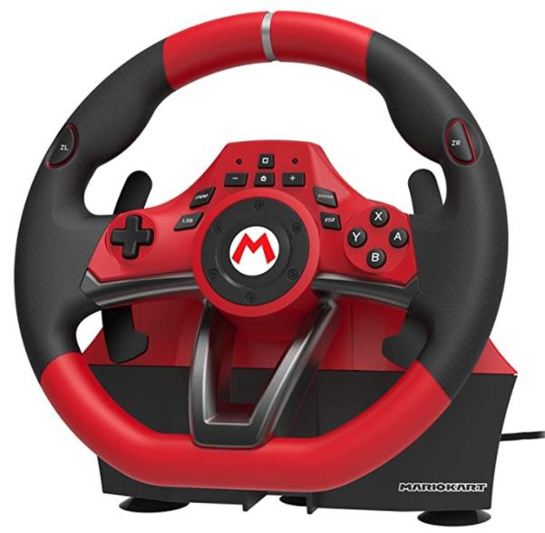 Mario Kart Racing Wheel Pro Deluxe (Switch) für 69,99€ (statt 82€)