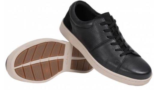 Clarks Kitna Vibe Herren Leder Sneaker für 35,94€ (statt 45€)