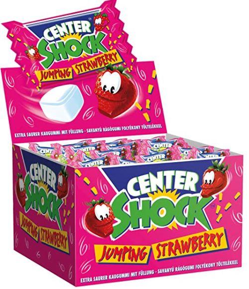 Center Shock Jumping Strawberry Box mit 100 Kaugummis ab 3,99€   Prime