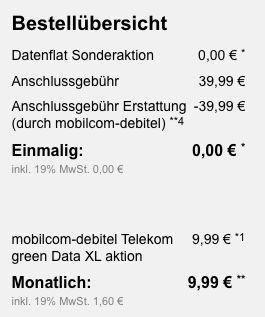 🔥 Knaller! Telekom Daten Flat mit 15GB LTE für 9,99€ mtl. (statt 30€)