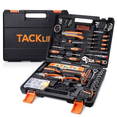 TACKLIFE Werkzeugset TLHTS01HD 144teilig im Koffer für den Heimgebrauch für 44,99€ (statt 60€)