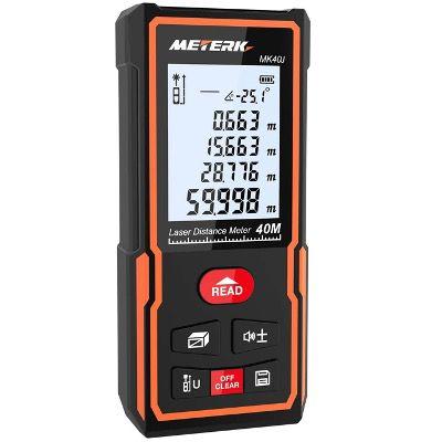 40% Rabatt auf Meterk Laser Entfernungsmesser 50 und 100 Meter – z.B. 50 Meter für 17,99€ (statt 30€)