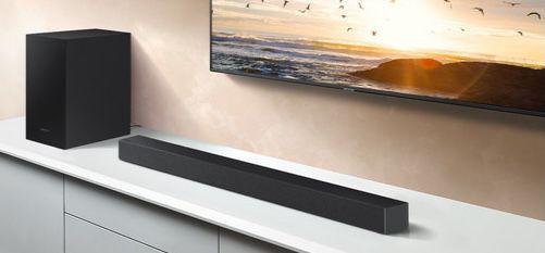 Samsung HW T420 Soundbar mit kabellosem Subwoofer für 108,90€ (statt 135€)