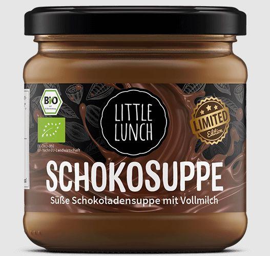 12er Pack Little Lunch Schokoladensuppe mit Vollmilch für 30,50€