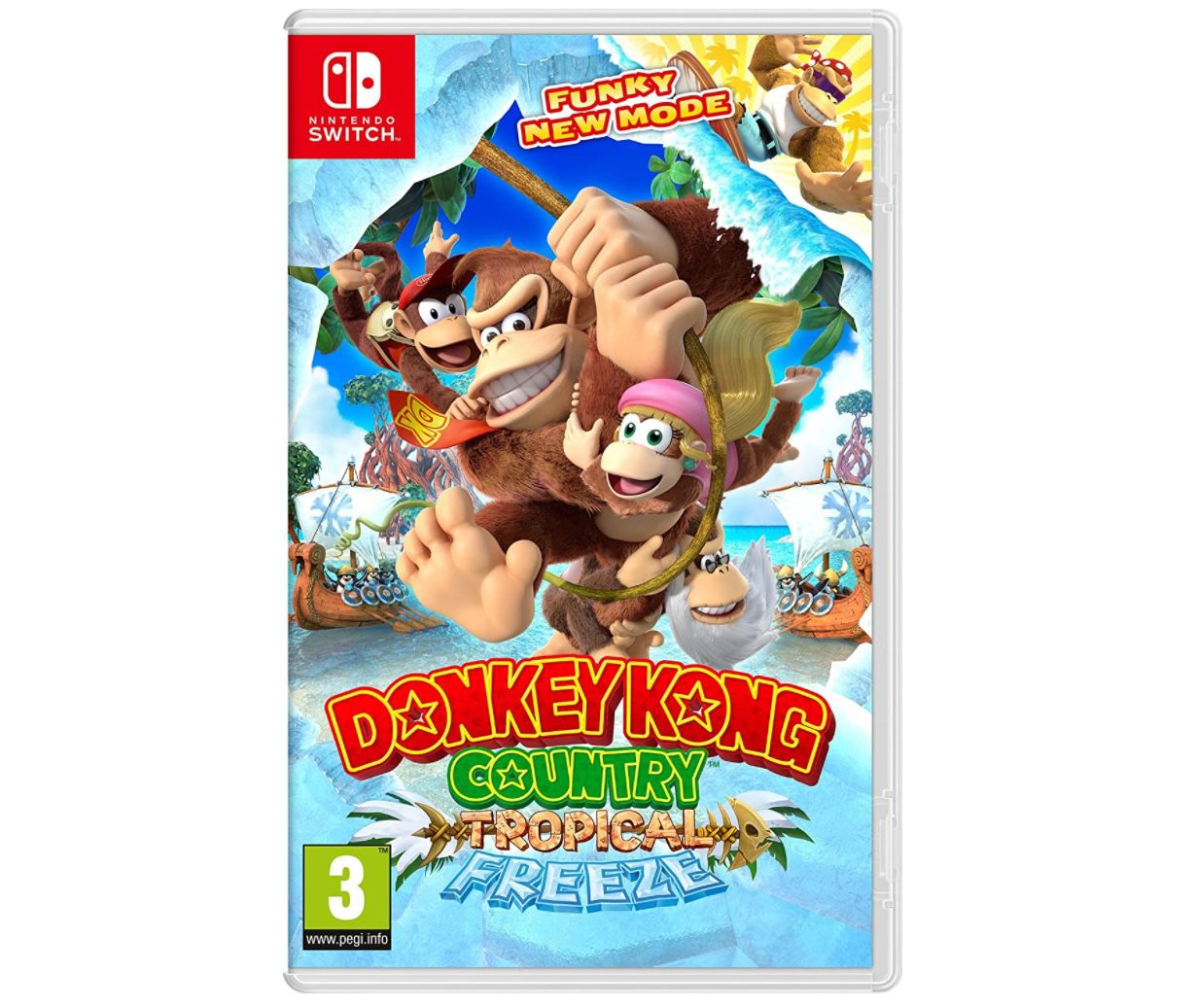 Donkey Kong Country: Tropical Freeze (Switch) für 32€(statt 49€)   wie neu