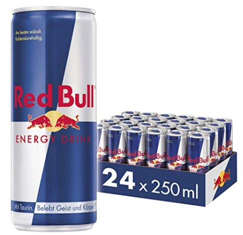 24er Tray Red Bull Energy Drink ab 22,85€ zzgl. 6€ Pfand – Prime