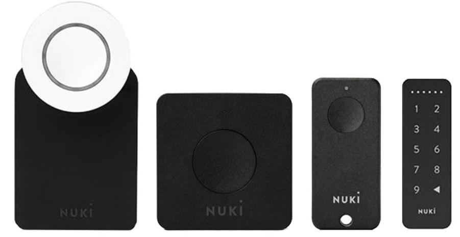 Nuki Combo 2.0 Smart Lock + Bridge + Fob + Keypad für 299€(statt 371€) + gratis Google Nest Mini