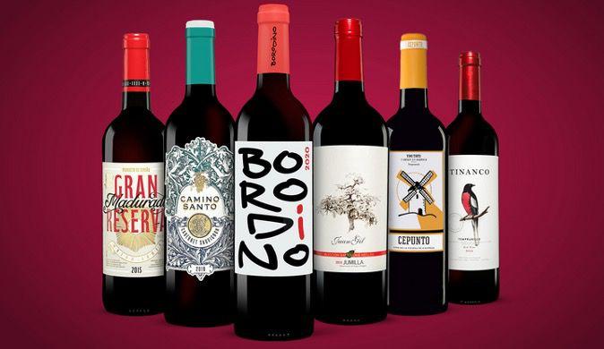 Vinos Rotwein Paket mit 6 Flaschen für 24,99€ (statt 55€)