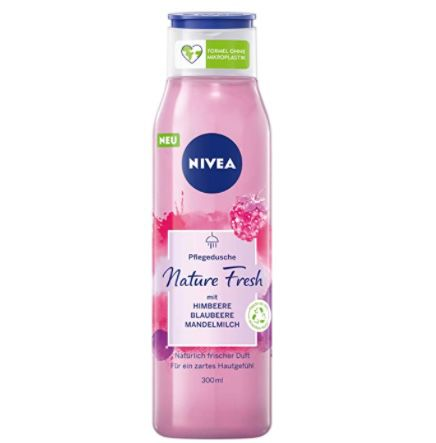 4er Pack Nivea Nature Fresh Shower Gel Himbeere ab 4,44€ (statt 8€)   Prime