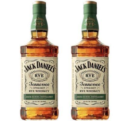 2x Jack Daniel's Tennessee Rye Whiskey 45% (je 1 Liter) für 58,50€ (statt 67€)