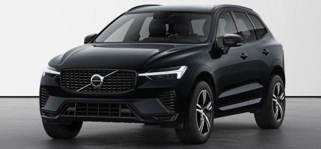 Privat: Volvo XC60 B4 R Design Facelift mit 197PS in Onyx Black Metallic für 242,62€ mtl.   LF 0,52