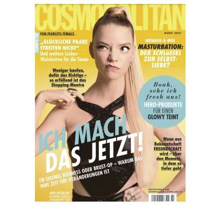 12 Ausgaben Cosmopolitan für 45,60€ + 50€ Gutschein
