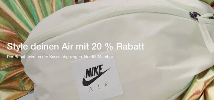 🔥 Nike mit 20% Extra Rabatt für Nike Member   z.B. FC Barcelona Trikot 2021 Heimtrikot für 43,18€ (statt 68€)