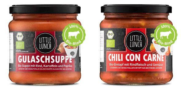 🔥 Knaller: Little Lunch fette 30% Rabatt   z.B. 12x Rote Linsen Bio Suppe für 25,12€ (statt 36€)