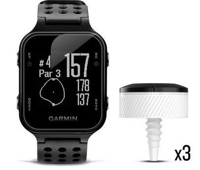 Garmin Approach S20 Golfuhr + CT10 Golftracker für 155,90€ (statt 250€)