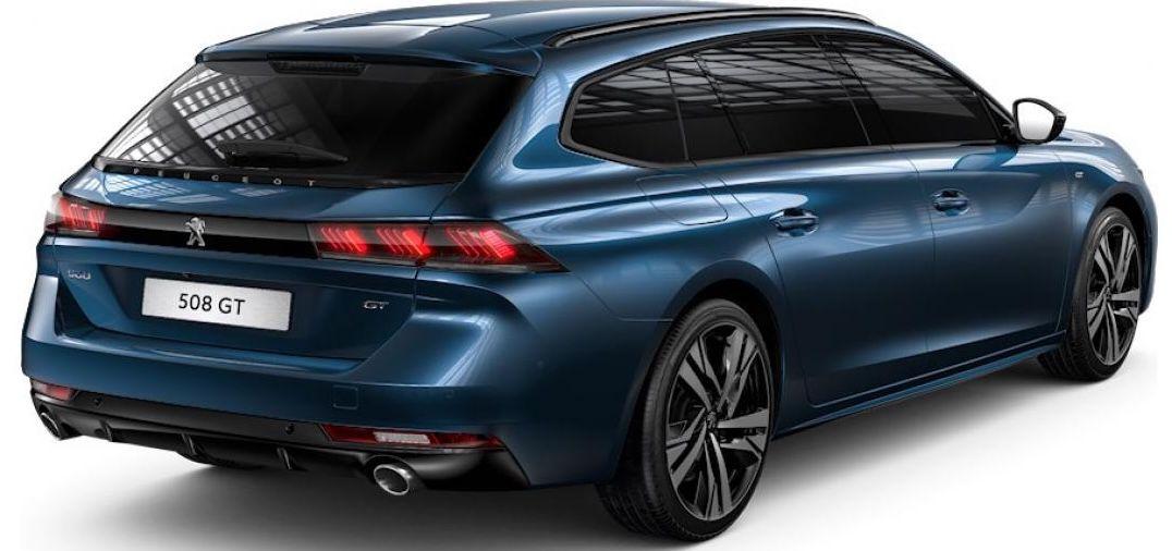 Privat: Peugeot 508 SW GT PureTech mit 224 PS für 179€mtl.   LF: 0.35