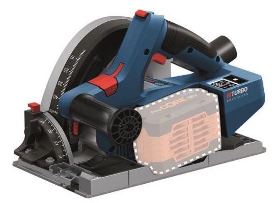 Bosch BITURBO GKT 18V 52 GC Akku Tauchsäge inkl. L Boxx für 296€ (statt 335€)