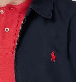 Polo Ralph Lauren Übergangsjacke mit Umlegekragen für 79,99€ (statt 150€)   nur L + XL