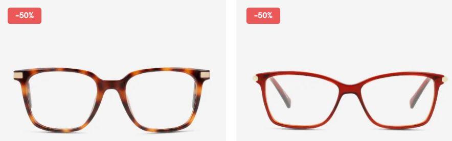 Apollo:  50% auf ausgewählte Markenbrillen   z.B. Calvin Klein CK18109 601 Metall Eckig für 85€(statt 109€)