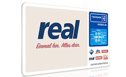 1.000 Extra Paybackpunkte bei Real ab Einkaufswert von 100€ am 30. und 31. März