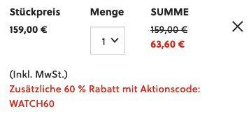 Fossil FS5635 Chapman Multifunktions Herrenuhr mit Lederarmband für 54€ (statt 125€)
