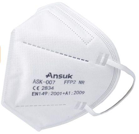 100er Pack Ansuk FFP2 Atemschutzmasken für 39,89€ oder 200 für 74,88€