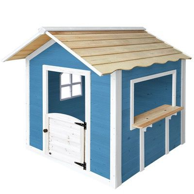 Home Deluxe Spielhaus Der große Palast in Natur oder in Blau ohne Bank für 184,99€ (statt 242€)