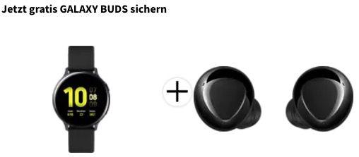 Samsung Galaxy Watch Active2 Smartwatch in 44mm inkl. Samsung Galaxy Buds+ für 149€ (statt 248€)