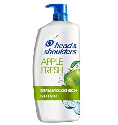 5x Pack Head & Shoulders XXL Apple Fresh im Pumpspender (je 900ml) ab 34,82€ (statt 45€)