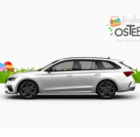 Vehiculum: Oster Leasing-Deals für Gewerbe – z.B. Skoda Octavia RS Combi 245PS ab 206€mtl.
