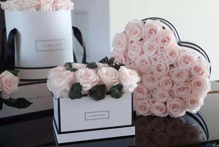 Wertgutscheine für Infinity Rosen (bis zu 3 Jahre haltbar) mit 50% Rabatt