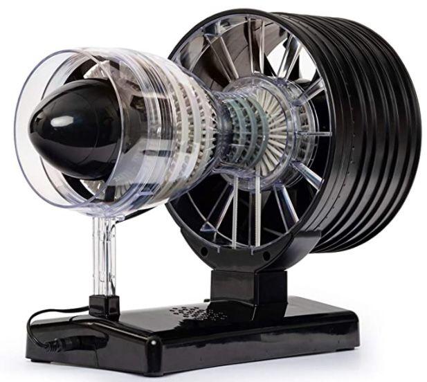 Flugzeugturbine Technikbausatz mit über 60 Bauteilen für 42,46€ (statt 69€)