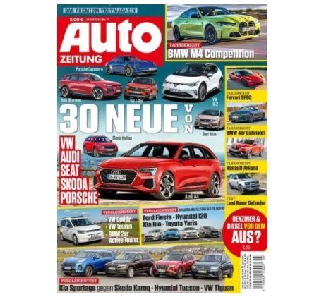 Jahres Abo: 25 Ausgaben Auto Zeitung im Abo für 90€ inkl. 80€ Amazon Gutschein