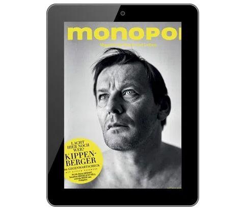 11 Ausgaben monopol Abo E-Paper für nur 1€ (statt 108€)