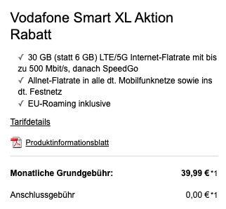 Xiaomi Mi 11 5G mit 256GB + 10€ Amazon Gutschein für 4,99€ + Vodafone Allnet mit 30GB LTE/5G für 39,99€ mtl.