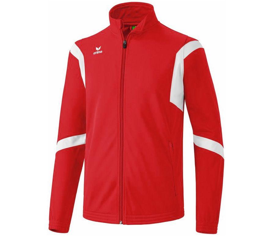 Erima Classic Team Trainingsjacke in Rot für 7,28€ (statt 18€)