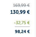 25% auf alles bei Mirapodo auch Sale   z.B. Panama Jack Schnürstiefeletten für 98,24€ (statt 160€)